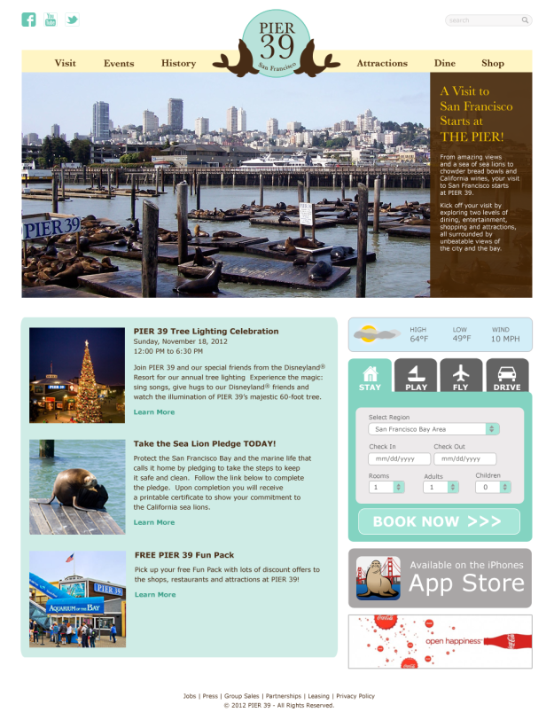 pier39-redesign project